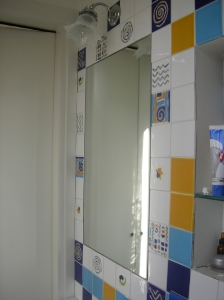 lo specchio nelle piastrelle 2